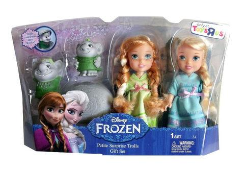Анна и Эльза Frozen Petite Toddler Princess & Surprise Troll