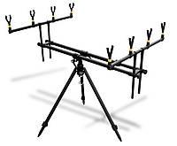 Подставка Lineaeffe Rod-pod Set для четырех удилищ + чехол  0,8/1,26м х 0,64м х 0,77/1,40м