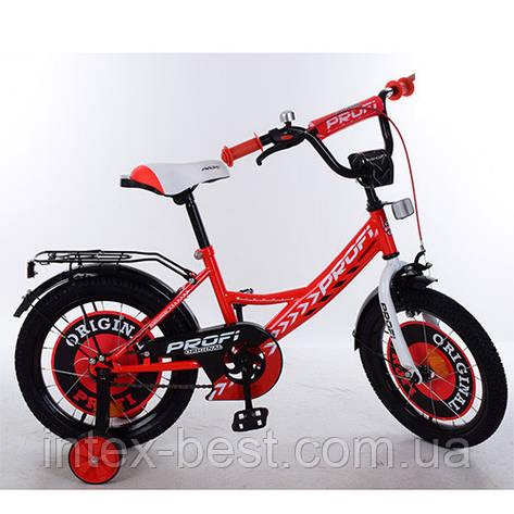 """Двухколесный детский велосипед PROFI Original boy 14"""" (Y1445) со звонком, фото 2"""