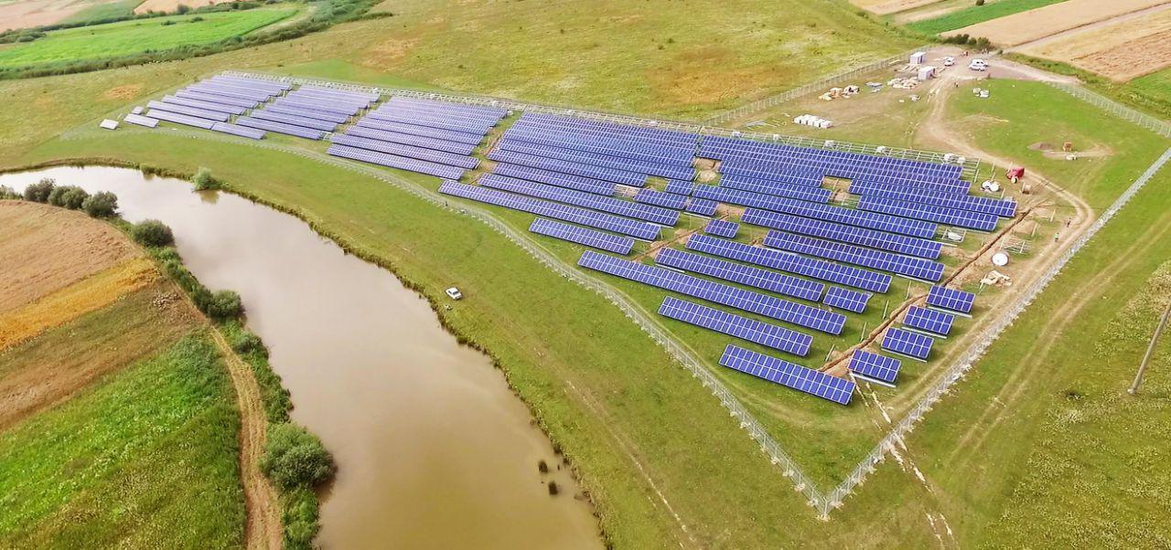 Ограждение солнечных электростанций