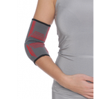 Бандаж на локтевой сустав вязанный эластичный усиленный R9104, фото 2