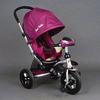 Велосипед трехколесный Best Trike 698, фиолетовый