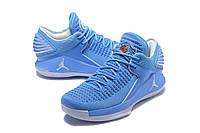 Мужские баскетбольные кроссовки Air Jordan 32 Low (blue/white), фото 1