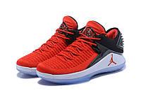 Мужские баскетбольные кроссовки Air Jordan 32 Low (red/black/white), фото 1