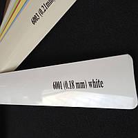 Горизонтальные жалюзи Люкс белые