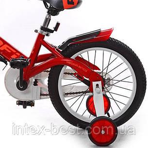 """Двухколесный велосипед PROFI 16"""" Красный (W16115-1) со звонком, фото 2"""