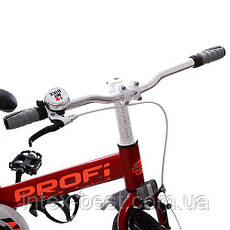 """Двухколесный велосипед PROFI 16"""" Красный (W16115-1) со звонком, фото 3"""