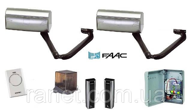 Привод FAAC 390 — автоматика для распашных ворот, Киев, купить комплект