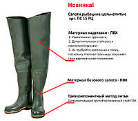 Сапоги-заброды , Псков,ПВХ.42 размер.