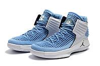 Мужские баскетбольные кроссовки Air Jordan 32 (blue/white), фото 1