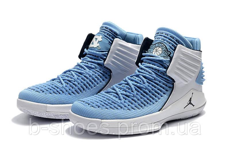 12706738bcf2 Мужские баскетбольные кроссовки Air Jordan 32 (blue white) купить в ...