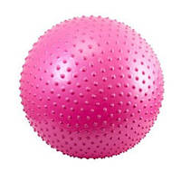 Мяч для фитнеса 65 см  0280 с шипами