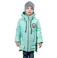 Демисезонная куртка Молли мята (4-7 лет)