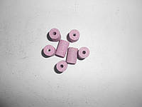 Круг абразивный шлифовальный прямого профиля (розовый) 92А 20х25х6