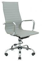 Кресло офисное Бали светло-серое