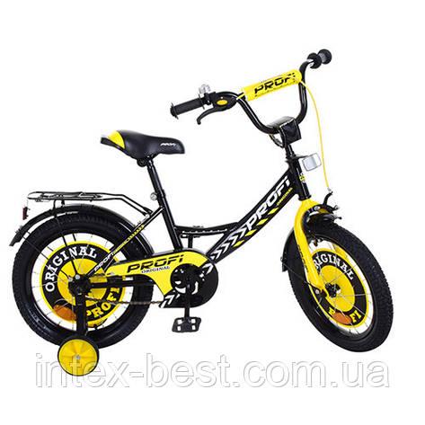 """Велосипед двухколесный PROFI Original boy 16"""" (Y1643) со звонком, фото 2"""