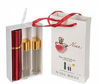 Мини парфюм женский Nina Ricci Nina (Нина Риччи Нина, красное яблоко ) 3*15 МЛ