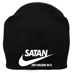 Шапка Satan - Just Believe In It