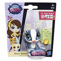 Littlest pet shop енот маленький зоомагазин Honey Badgely