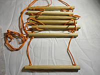 Детская верёвочная лестница  для шведской стенки Эконом Богатырь