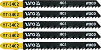 Полотно для электролобзика, 5 шт, YATO