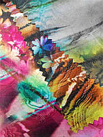 "Ткань  Рип-стоп(Дизайн) сумочная с рисунком ""ПАВЛИНИЙ САД"""