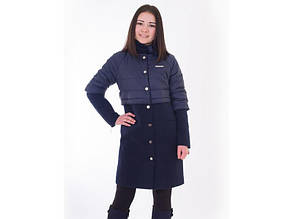 """Пальто демісезонне для дівчинки Luxik """"Любаша"""" 11021201  152"""