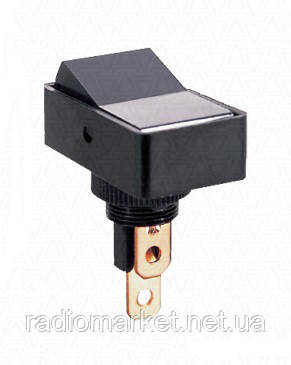 Переключатель ASW-11-102 ON-ON, 3pin, 12V, 20А, чёрный