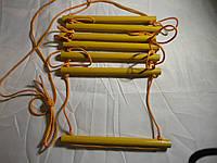 Детская верёвочная подвесная лестница для шведской стенки Элит