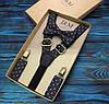 Набор I&M Craft галстук-бабочка и подтяжки для брюк (030234)