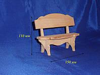 Скамеечка для кукол разобранная 21.097, фото 1