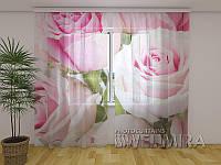 ФотоТюль Королевские Розы