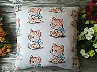 Подушка рыжий котик , 39 см * 39 см