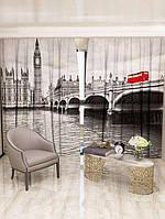 Фотоштора Лондонская панорама 142х270 2шт (11926_4_1)