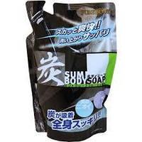 Mitsuei Крем-мыло для мужчин с древесным углемглубокоочищающее, дезодорирующее (ароматом мяты