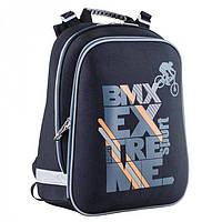 Черный каркасный рюкзак Bike 1Вересня арт. 553375