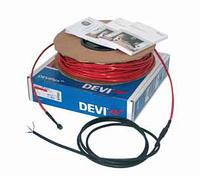 1,0-1,3 м². Тёплый пол. Нагревательный кабель DEVIflex™ 18Т