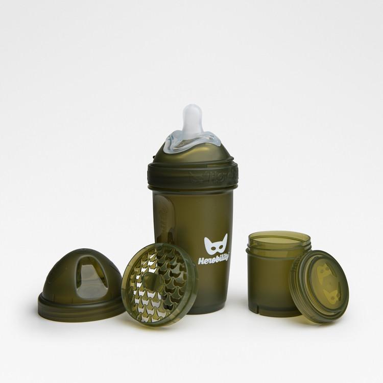 Herobility - Бутылочка Herobottle 240 ml, цвет хаки