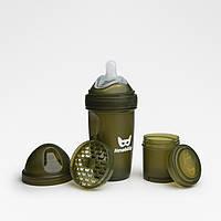 Herobility - Бутылочка Herobottle 240 ml, цвет хаки, фото 1