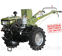 Кентавр МБ1012-5  (мотоблок+фреза+плуг)Мотоблок дизельный