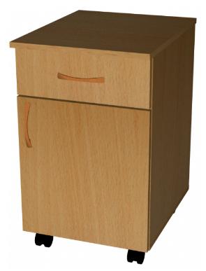 Тумба мобильная ( ящик, двери )