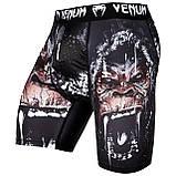 Компрессионные шорты Venum Gorilla Vale Tudo Shorts Black, фото 2