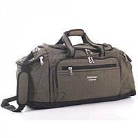 Вместительная дорожная сумка цвета хаки Elenfancy арт. 2092B