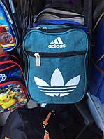 Мужская спортивная городская сумка барсетка через плечо Adidas опт и розница