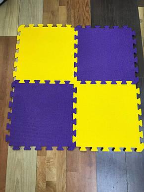 Lanor Детский мягкий пол-пазл 480*480*10мм НХ желтый, фото 2