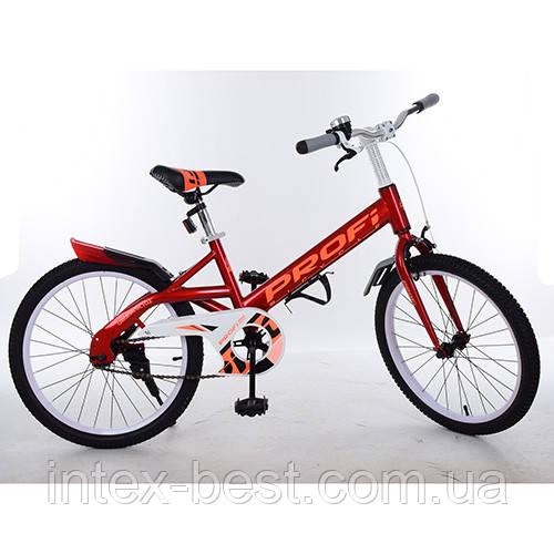"""Велосипед двухколесный PROFI Original 20"""" (W20115-1) Красный"""