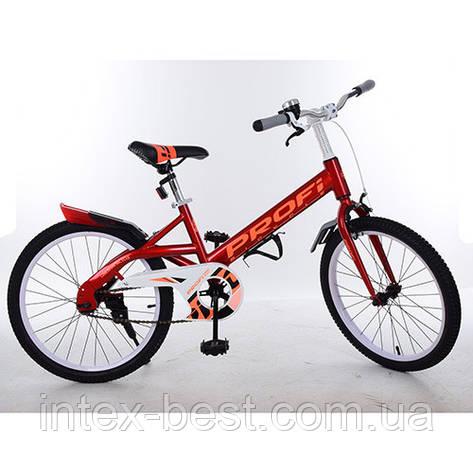 """Велосипед двухколесный PROFI Original 20"""" (W20115-1) Красный, фото 2"""