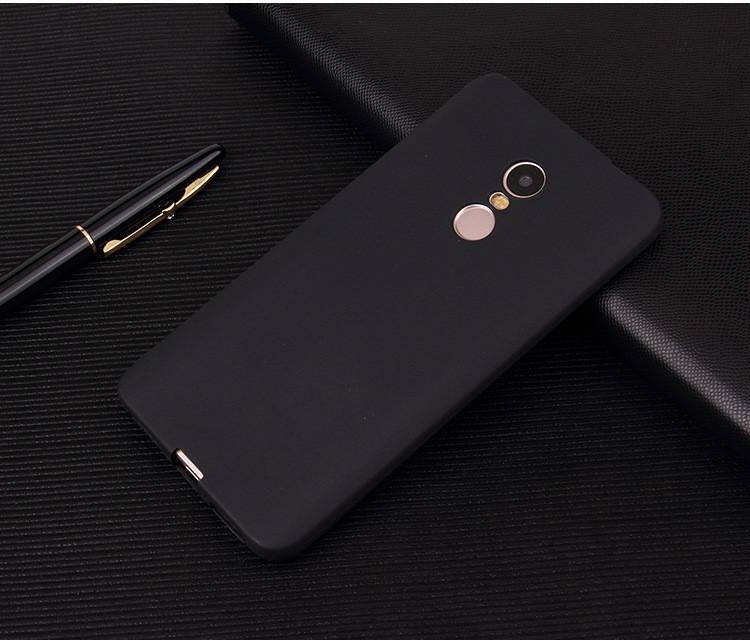 Чехол Xiaomi Redmi Note 4X / Note 4 Global силикон soft touch бампер ч
