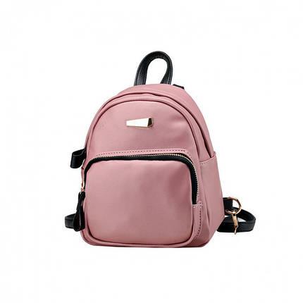 Рюкзак женский Adel XS розовый, фото 2