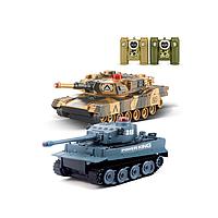 Танковый бой р/у